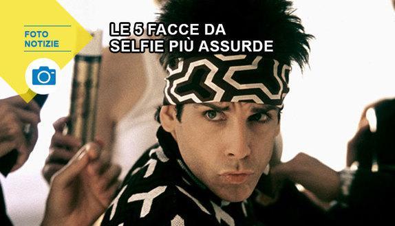 Le 5 facce da selfie più assurde