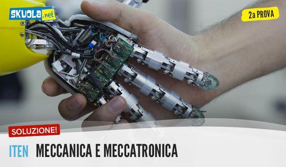 Meccanica e meccatronica: tracce e soluzioni seconda prova maturità 2017 ITEN