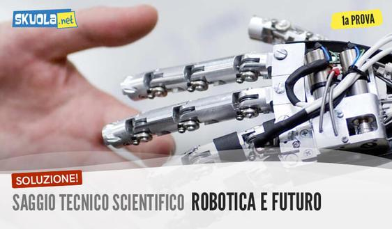 Saggio tecnico scientifico: svolgimento e soluzione maturità 2017