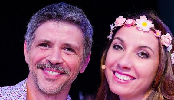 Marco Morandi e Claudia Campagnola ospiti della Skuola Tv