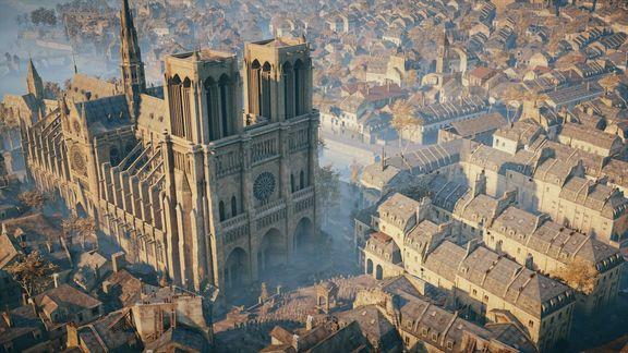 Assassin's Creed potrebbe aiutare a ricostruire Notre-Dame