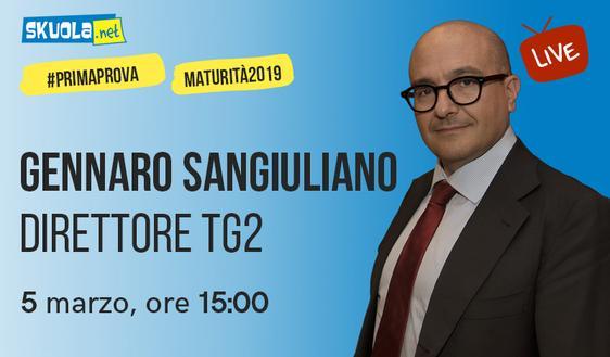 Maturità 2019: i consigli del Direttore del Tg2 Gennaro Sangiuliano!