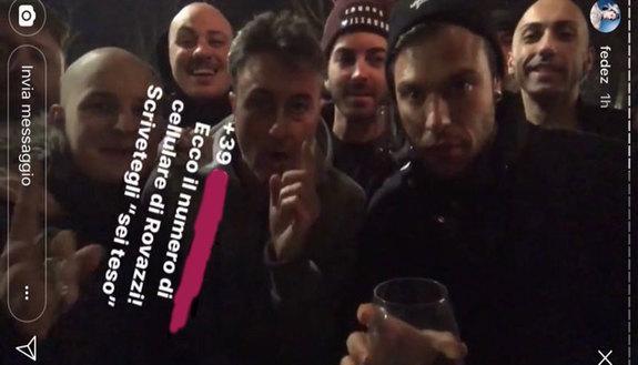 Fedez pubblica su Instagram il numero di Rovazzi: telefono in tilt