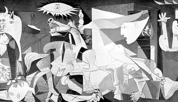 Buste orale maturità 2019, esempi e collegamenti: Guernica