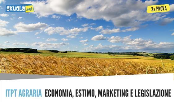 Traccia e soluzione Seconda prova maturità 2018 Agraria, agroalimentare, agroindustria: produzione e trasformazioni