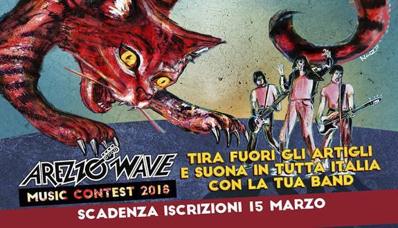 Arezzo Wave Music Contest 2018: se la musica è la tua strada, partecipa anche tu!