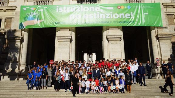 Porte aperte al Miur per una lezione sull'ambiente: i progetti green degli studenti