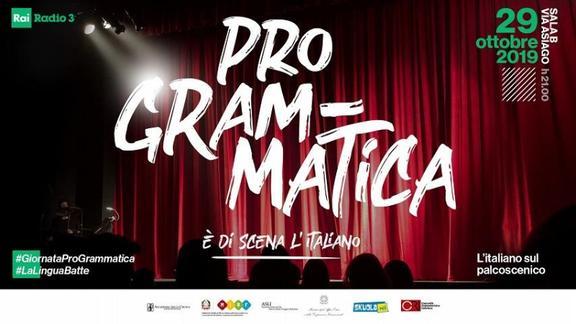 Giornata ProGrammatica 2019, l'evento per chi ama la lingua italiana