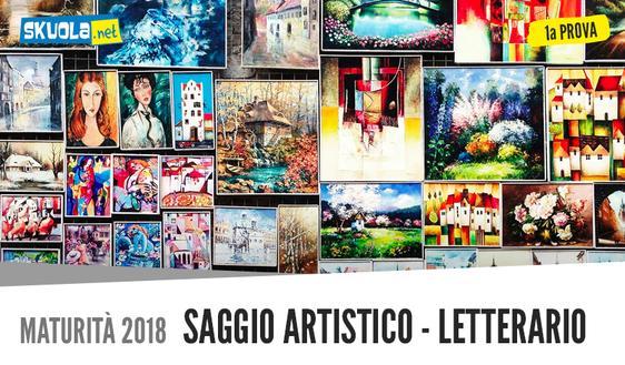 Saggio Artistico letterario sulla solitudine: testo prima prova italiano Maturità 2018
