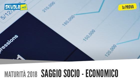Prima Prova italiano sulla creatività: Saggio Socio Economico, Maturità 2018