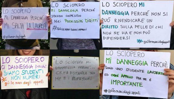 """Studenti contro lo sciopero dei prof nella sessione estiva: """"E' inutile"""""""