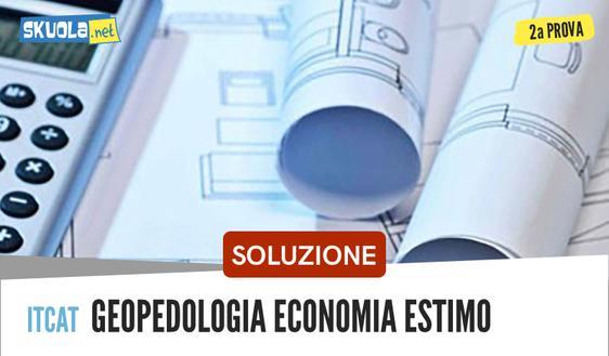 Soluzione Geopedologia, economia ed estimo: per gli istituti ITCAT, Maturità 2018