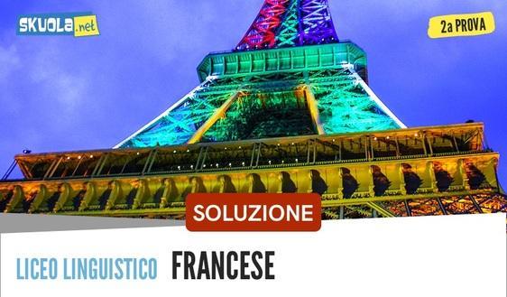 Francese soluzione seconda prova liceo linguistico: maturità 2018