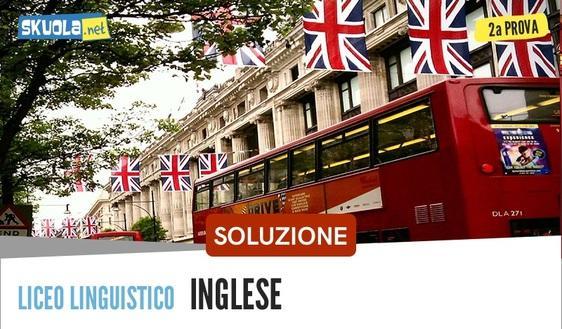 Linguistico: Soluzione seconda prova Inglese, maturità 2018