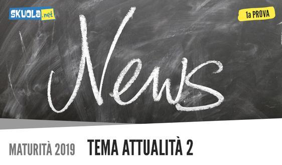 Prima prova, tema attualità Maturità 2019: rapporto tra sport, storia e società tipologia C