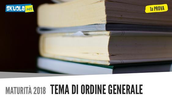 Traccia tema generale: Uguaglianza nella Costituzione, Prima prova Maturità 2018