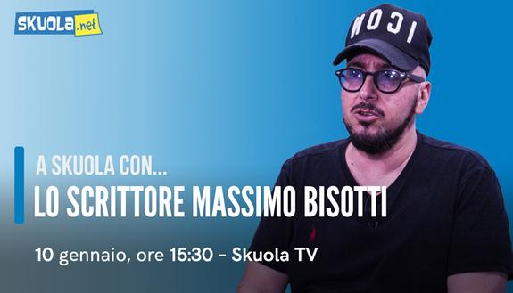 Massimo Bisotti, intervista su Skuola.net: tutte le curiosità sullo scrittore