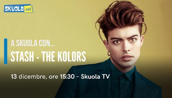 Stash, intervista su Skuola.net: tutte le curiosità sul frontman dei The Kolors
