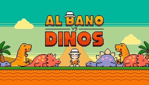 Sconfiggi i dinosauri con Al Bano: è nato il videogame