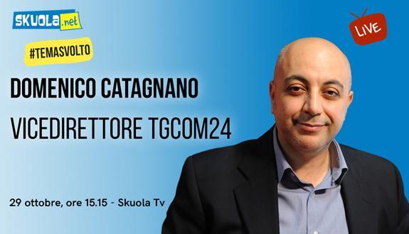 Tema sul Coronavirus, come farlo bene? #TemaSvolto con Domenico Catagnano, vicedirettore di TGcom24 - Live 29 ottobre alle 15:15