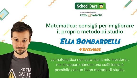 Mai più brutti voti in matematica: diventa un asso dei numeri con Elia Bombardelli