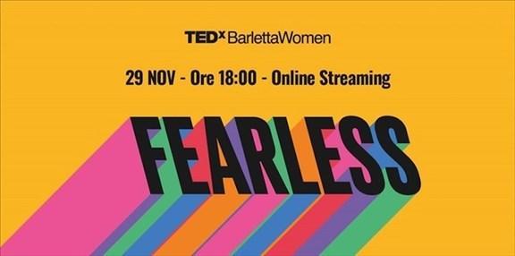"""TEDxBarletta torna con un format online e gratuito e con un gruppo di speaker tutto al femminile: """"Women FEARLESS"""""""