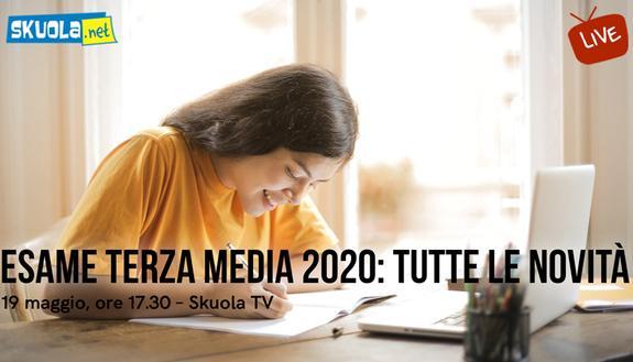 Terza Media: Skuola.net spiega live le novità sull'esame oggi alle 17.30