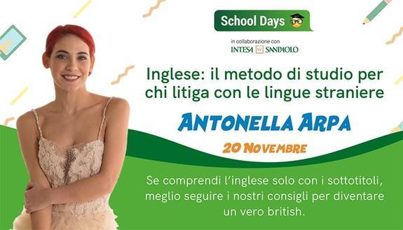 Insufficienza periodica in inglese? Antonella Arpa (Himorta) ti aiuta a studiare da 10 e lode