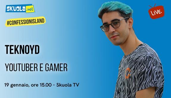 A Skuola con... Teknoyd - #ConfessionIsland Live 19 gennaio ore 15.00