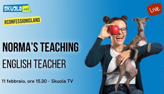 A Skuola con... Norma's Teaching, la più famosa insegnante di inglese su Tik Tok - #ConfessionIsland